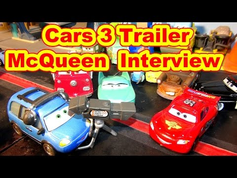 Pixar Cars 3 Lightning  McQueen Trailer Interview with Chuck Choke Cables