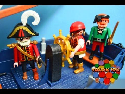 Barco pirata de playmobil pirate ship battle playmobil for Barco pirata playmobil