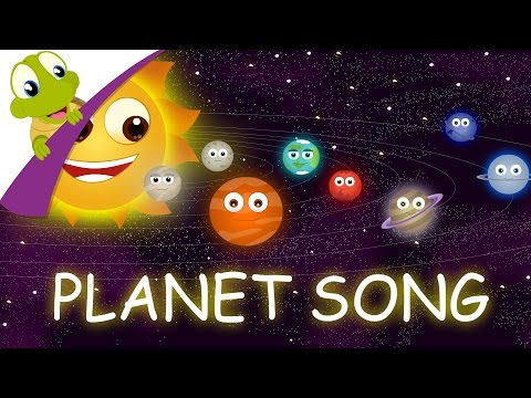 The Planets Song - The Solar System Nursery Rhyme