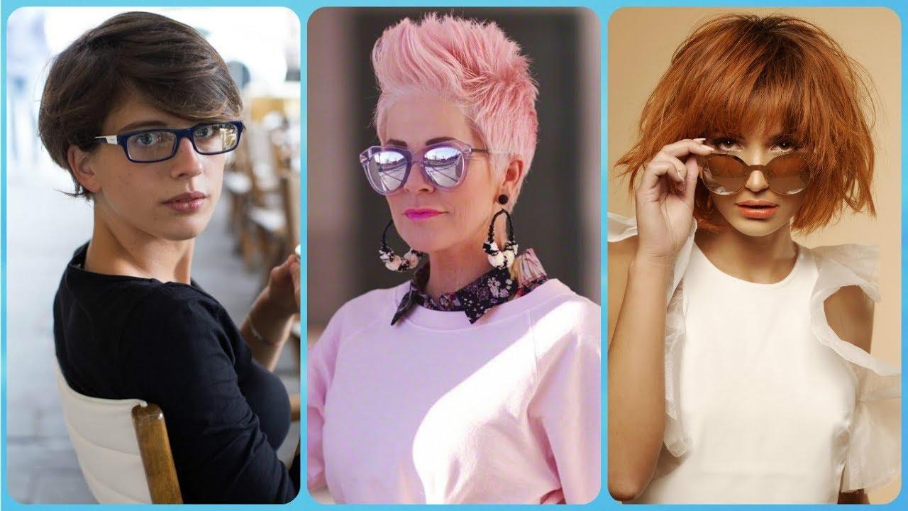 Taglio capelli corti per chi porta gli occhiali
