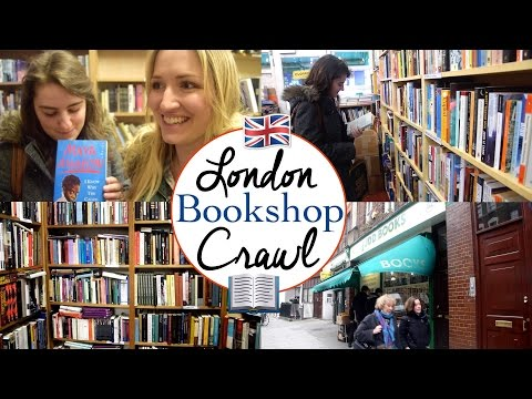 London Bookshop Crawl