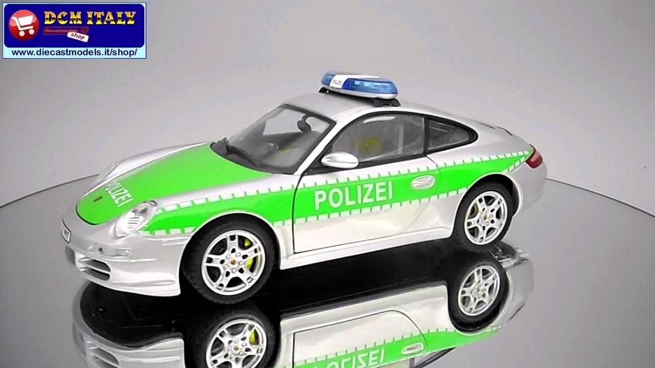 porsche police 1:24