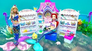 Mermaid Ariel Barbie Makeup Jewelry Room for Dance Party Costumes & Accessory DOLL