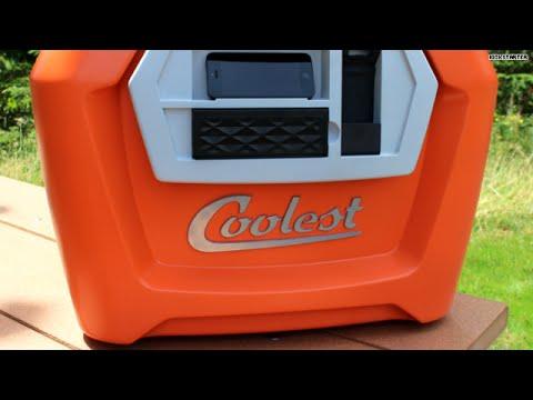 coolest cooler includes blender speaker