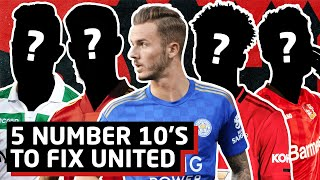 5 Attacking Midfielders To Fix United's Creative Issues