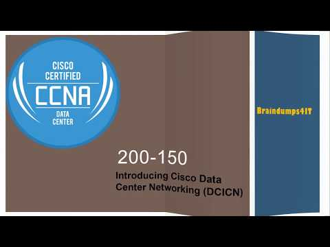 Latest Cisco CCNA 200-150 Braindumps Questions Answers