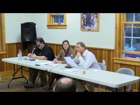 Vermont - Orleans/Lamoille Candidates Forum - 10/17/2016