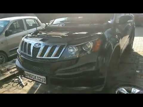 how to Mahindra Xuv 500 engine all filters replace & front suspension overhaul