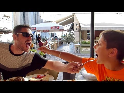 Great Food In Thessaloniki Greece | LGBT Family Eating Show