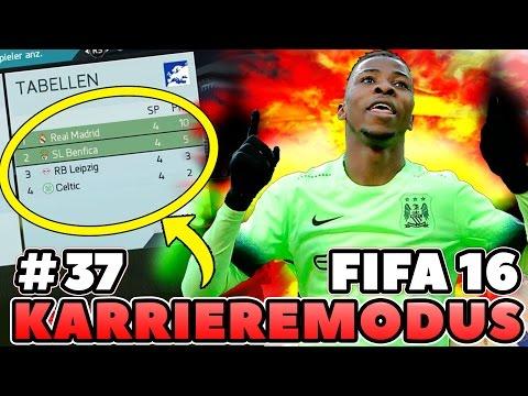 FIFA 16: RB LEIPZIG KARRIERE #37 | SPANNENDSTES SPIEL EVER!? CHAMPIONS LEAGUE AUS?! HEFTIGSTE FOLGE!