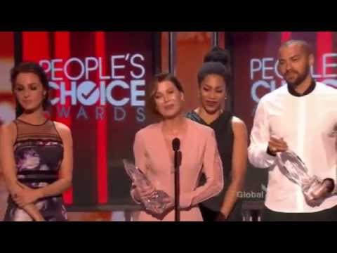 Grey's Anatomy Favorite Network TV Drama - People's Choice Awards 2015