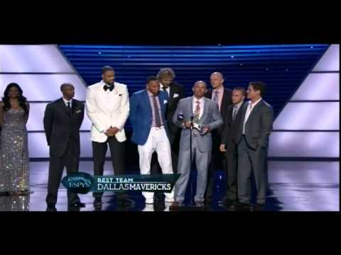 Mark Cuban and the Mavericks at the 2011 ESPYs