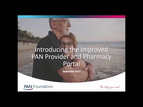 Improved PAN Provider and Pharmacy Portals 2017