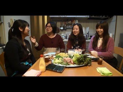 惊奇日本:在日留學生的壽司派對【留学生の寿司パーティー】~ビックリ日本~