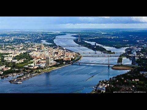 Honer Nazhat Boat Tour in Daugava River, Riga - Latvia جولة بالقارب في ريكا - لاتفيا