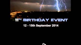 Jerom - Crystal Clouds 11th Birthday Event 15-09-2014