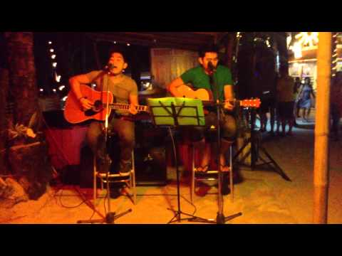 Daryll and Jayson - Beautiful Goodbye (Maroon 5 cover @red coconut boracay)