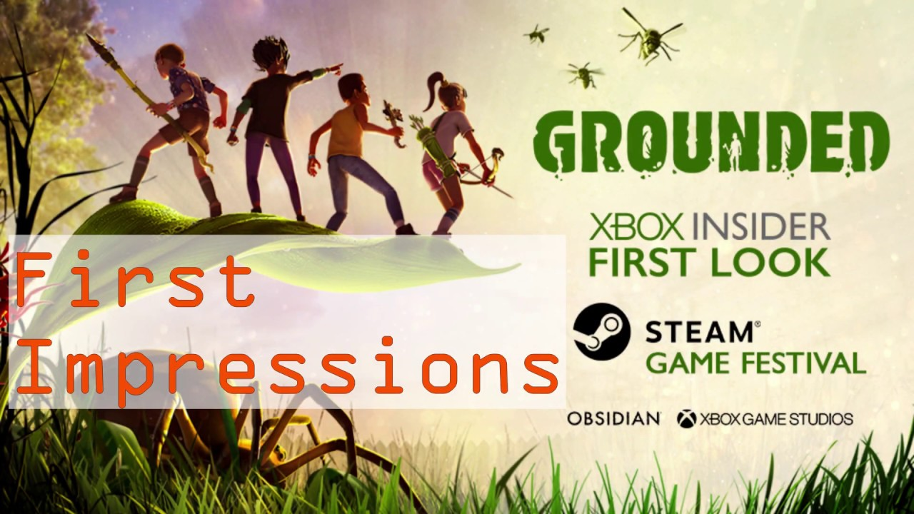 First Impressions- Grounded
