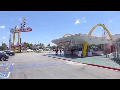 Downey, California - Oldest McDonald's Restaurant HD (2016)