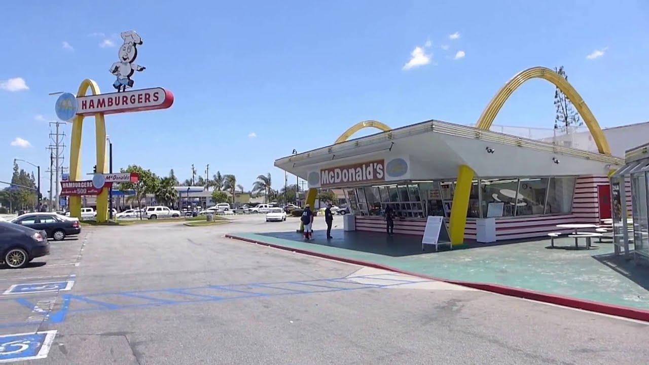 Downey, California - Oldest McDonald's Restaurant HD (2016) - YouTube