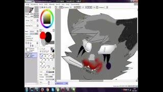 Рисуем кота в Sai
