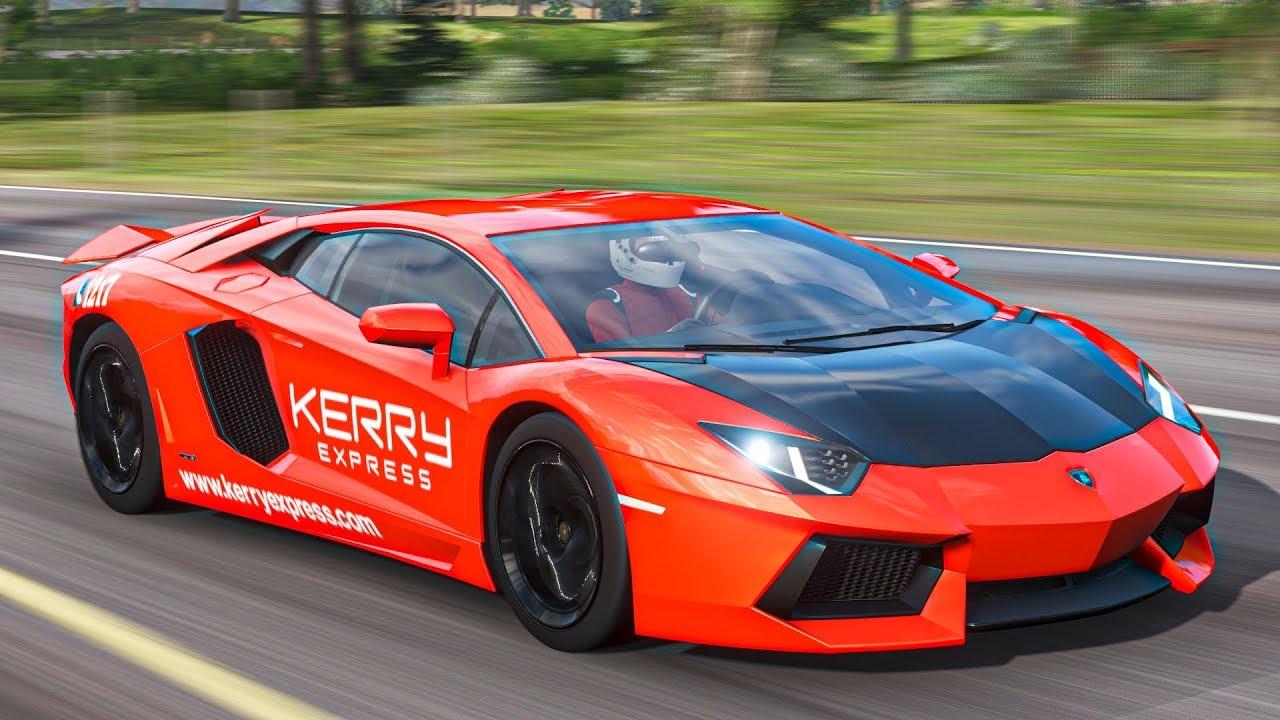 เปลี่ยนแลมโบเป็นรถเคอรี่ (Forza Horizon 4 Lamborghini Aventador Kerry Express)