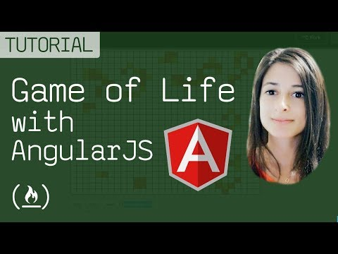 AngularJS tutorial: Game of Life