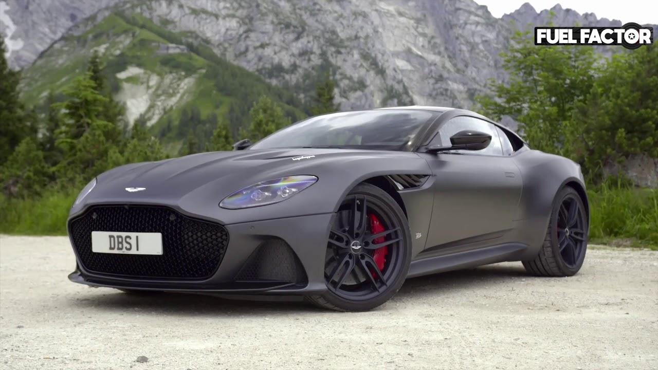 14 Aston Martin DBS Superleggera Grand Tourer in Matte Black | matte black aston martin