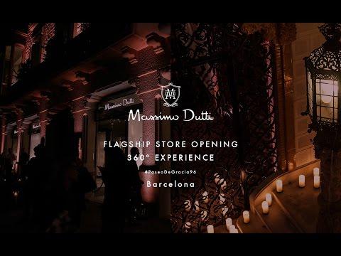 Massimo dutti   paseo de gracia 96 opening event 360 experience