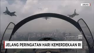Gladi Bersih Atraksi Pesawat Tempur TNI AU - Jelang Peringatan HUT ke-72 RI