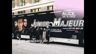 TOURNÉE PROMO DE JUNIOR MAJEUR // VLOG - PARTIE 1