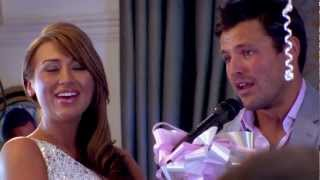 Mark Wright's emotional engagement party speech - The Only Way Is Essex
