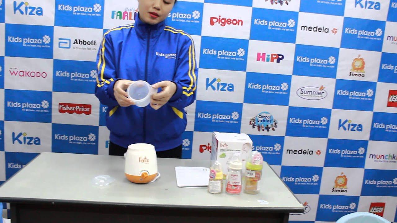 Máy hâm sữa Fatz Baby siêu tốc BF3003SL 3 chức năng – KidsPlaza.vn
