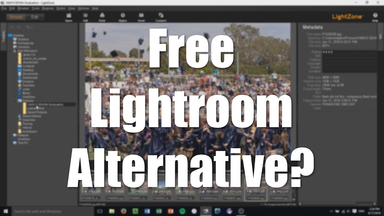 LightZone: A Free Lightroom Alternative?
