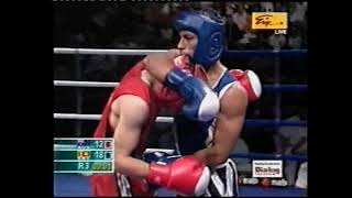 Commonwealth Games 2006 Melbourne|Manju's1st fight