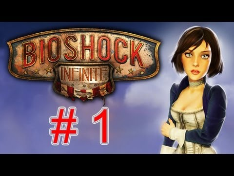 BioShock Infinite Walkthrough part 1 HD Let's play gameplay no commentary