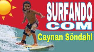 Caynan Söndahl-Mais um Surfista na Família Söndahl