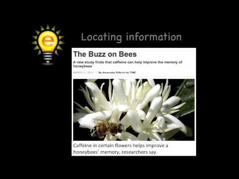 eSpark Learning: Using Text Features to Locate Information Instructional Video (5.RI.7) - By eSparkLearningVideos