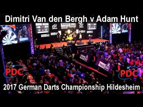 2017 German Darts Championship Hildesheim Dimitri Van den Bergh v Adam Hunt    First Round