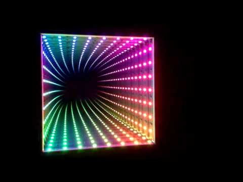 Dreamcolor RGB LED Infinity Mirror