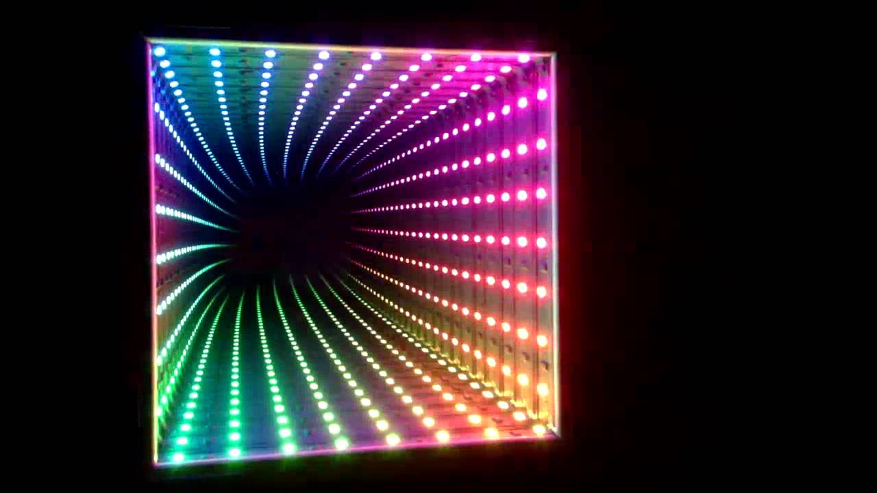 Dreamcolor Rgb Led Infinity Mirror Youtube
