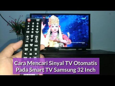 Cara Mencari Sinyal TV Otomatis Pada Smart TV Samsung 32 Inch