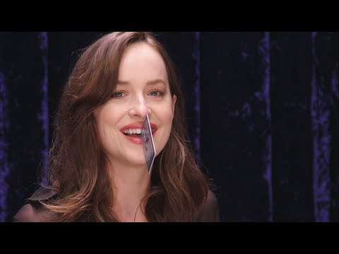 How Much Stuff Can Dakota Johnson Fit in Her Gap Teeth? | Secret Talent Theatre | Vanity Fair