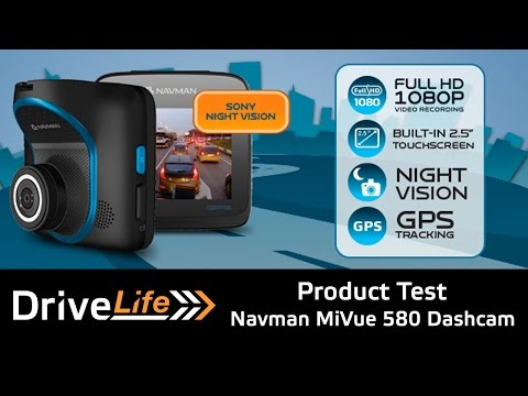 Navman MiVue 580 Dashcam Unboxing And Street Test - Product Review - Drive Life