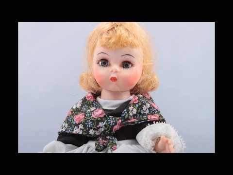 Madame Alexander, Alexandar Doll, Great Britain, Vintage, Collectible Doll, Cute