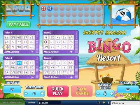 Bingo Resort Review & Free Online Demo Game