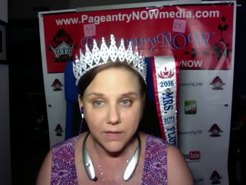 Guest Brooke Miss New York Jr. High 2016/ Miss Maryland Pre-Teen NAM 2015 YouNow March 28, 2016