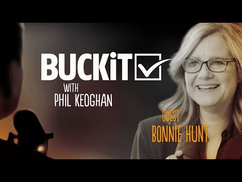 BUCKiT #35-Bonnie Hunt: Actress/Comedian/Director/Writer