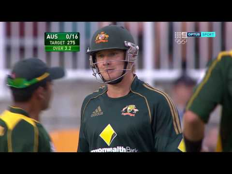 From the vault: Amir's fiery spell to Australia