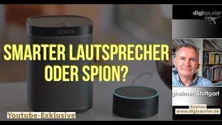 Hören vernetzte Lautsprecher immer mit? * Alexa, Google Home oder Siri sind nicht zu unterschätzen